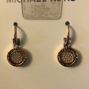 Michael Kors Jewelry - MK flip glitz drop embellished earrings
